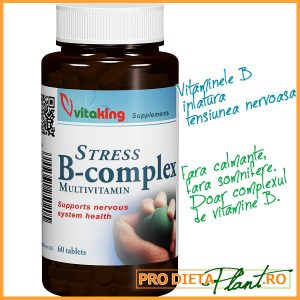 Multi Vitamine Complexul B. Anti Stress.
