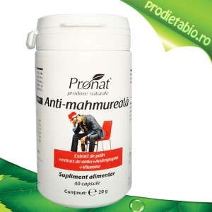 Tratament natural anti mahmureala