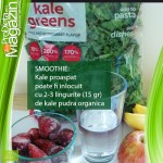 Kale ingrediente smoothie