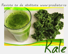 Kale (collard greens) smoothie