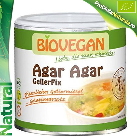 Agar agar gelifiant natural